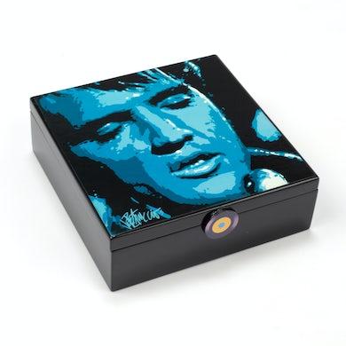 Elvis Presley Got the Blues Wooden Music Box