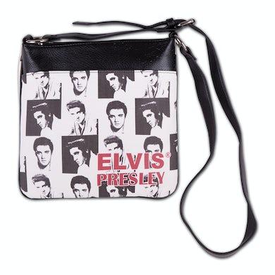 Elvis Presley - Collage Messenger Bag