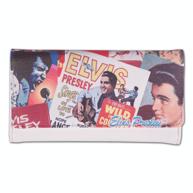 Elvis Presley - Biography Clutch Wallet