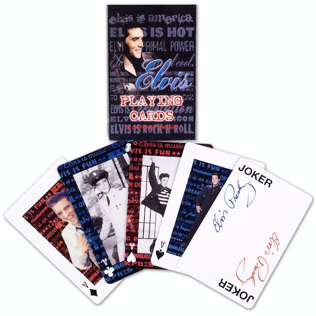 Elvis Presley Playing Cards