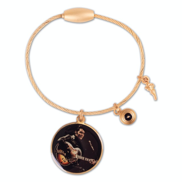 Elvis Presley 68 Comeback Cable Keychain