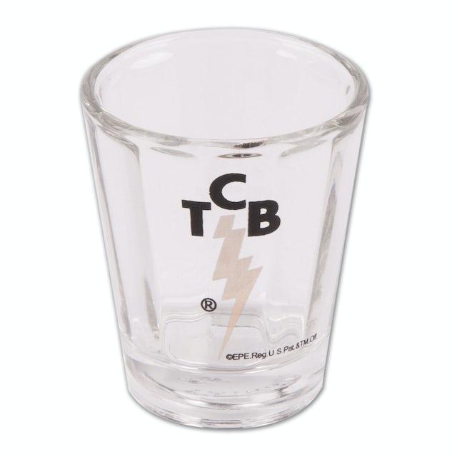 Elvis Presley TCB Optic Shotglass