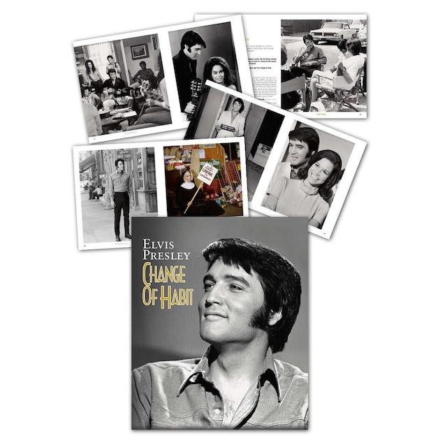 Elvis Presley Change of Habit FTD Book and CD