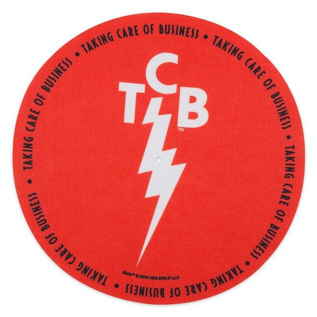 Elvis Presley TCB Red Slip Mat