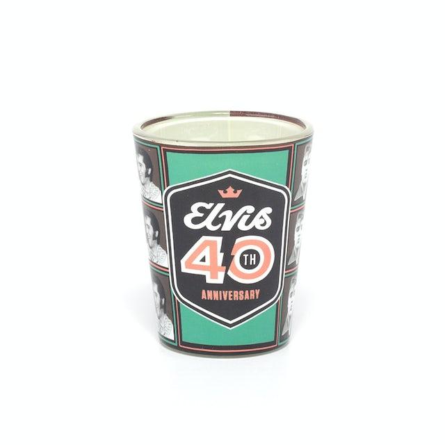 Elvis Presley 2017 40th Anniversary Shot Glass