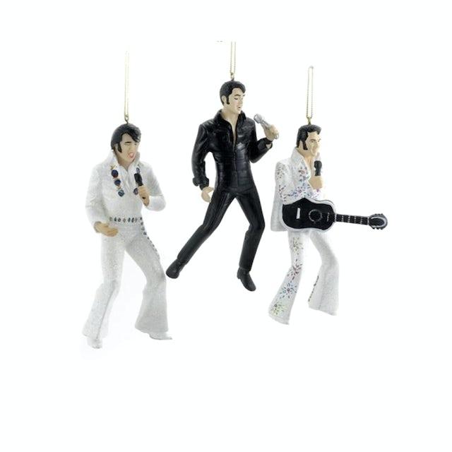 Elvis Presley In Performance Ornament Set
