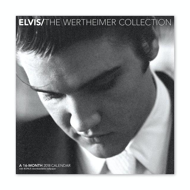 """Elvis Presley 12"""" x 12"""" 2019 Wertheimer Wall Calendar"""