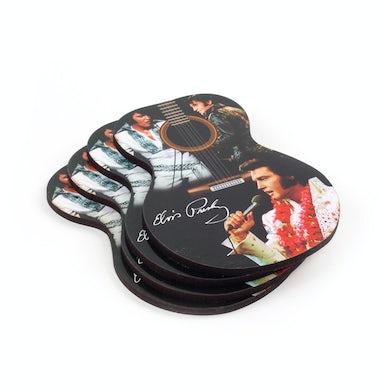 Elvis Presley Guitar Coasters