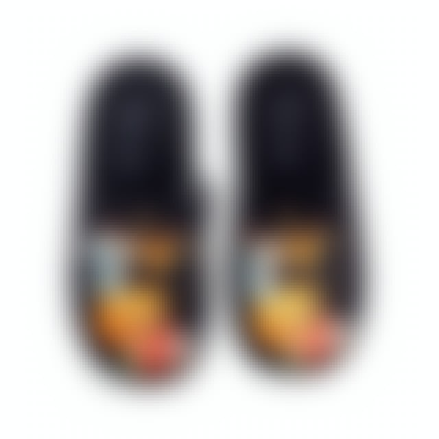 Elvis Presley Black Slippers