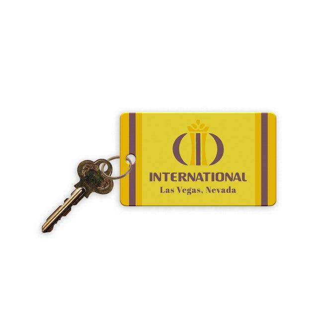 Elvis Presley LIVE 1969 International Hotel Replica Hotel Room Key