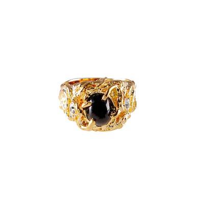 Elvis Presley Lowell Hays Black Star Sapphire Ring