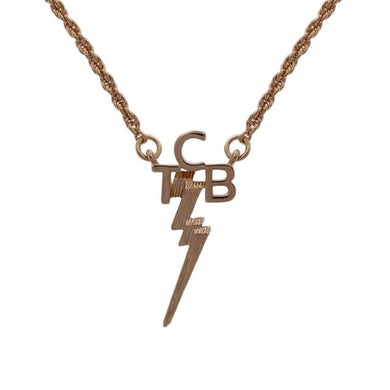 Elvis Presley Lowell Hays TCB 18K Gold Plated Necklace