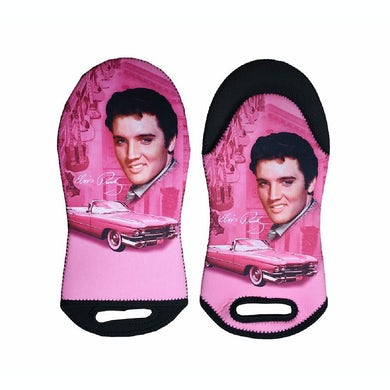 Elvis Presley Pink Cadillac Oven Mitt