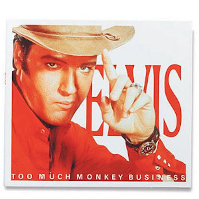 Elvis Presley Too Much Monkey Business FTD CD-Limited Edition
