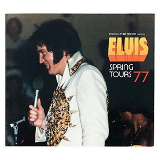 Elvis Presley Spring Tours 77 FTD CD