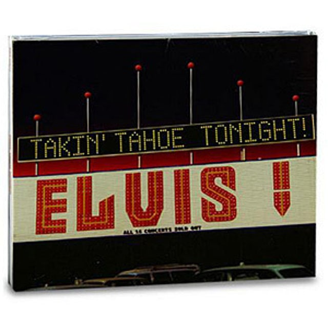 Elvis Presley Taking Tahoe Tonight FTD CD