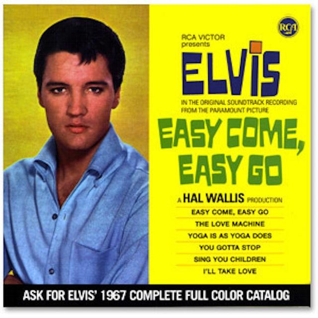 Elvis Presley Easy Come; Easy Go FTD CD