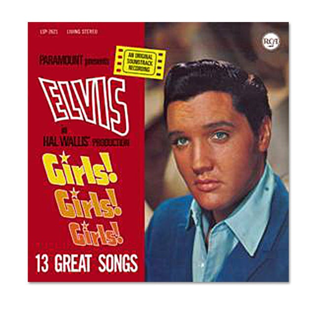 Elvis Presley Girls! Girls! Girls! FTD CD
