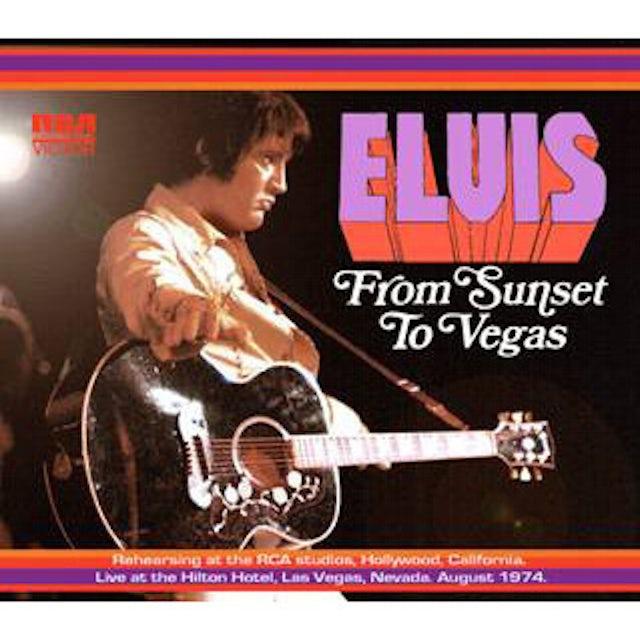 Elvis Presley From Sunset to Vegas FTD CD