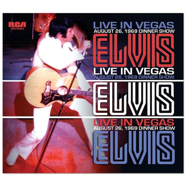 Elvis Presley Live in Vegas FTD CD