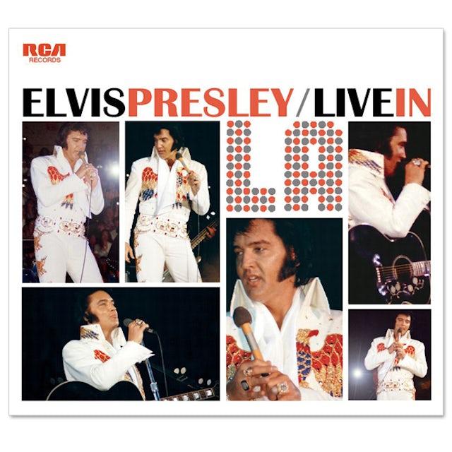 Elvis Presley Live in L.A. FTD CD