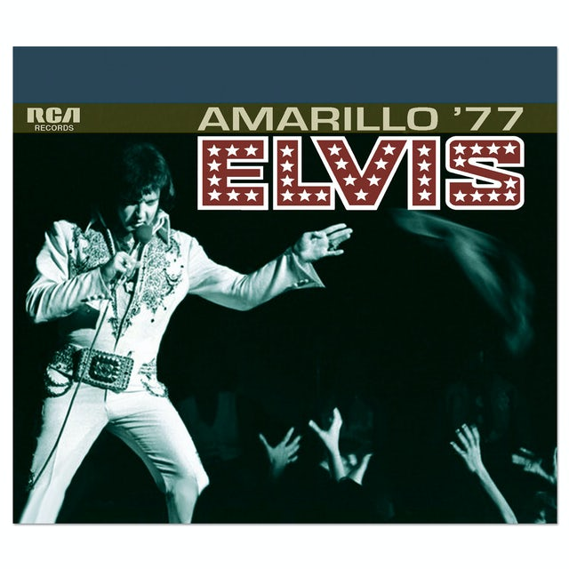 Elvis Presley Amarillo '77 FTD CD