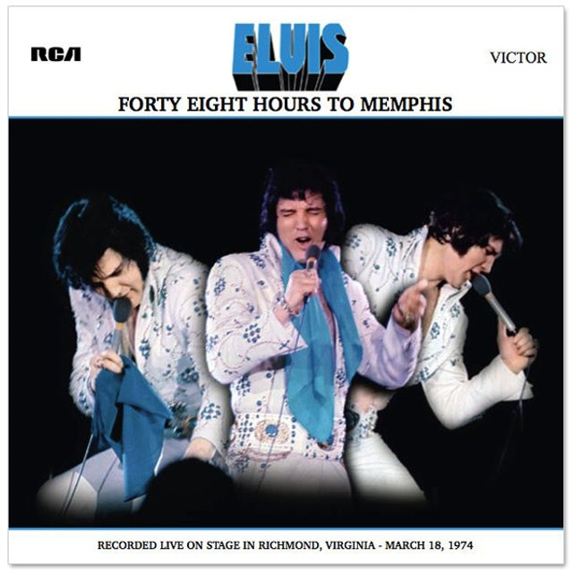 Elvis Presley Forty Eight Hours to Memphis FTD CD (Mono)