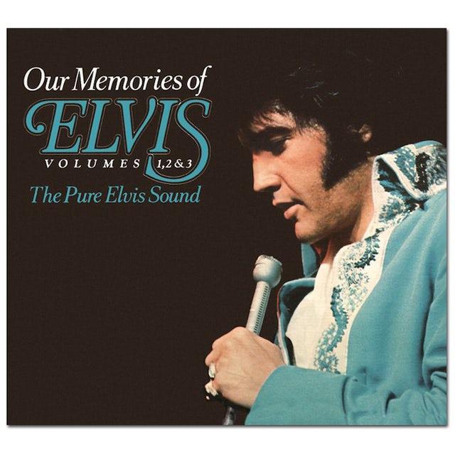 Our Memories of Elvis Volume 1, 2, 3 FTD CD