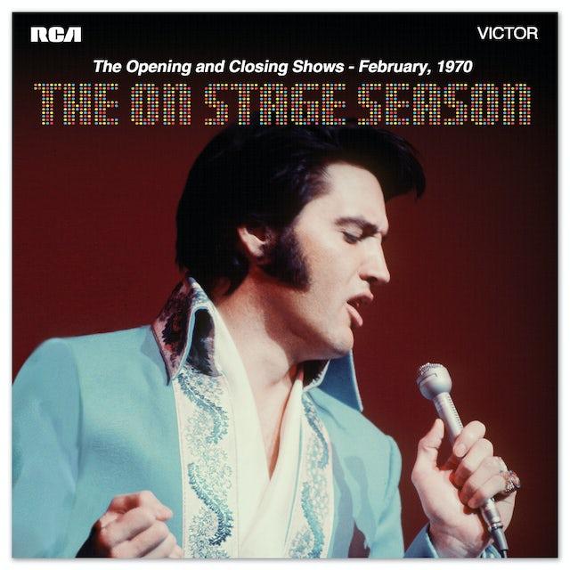 Elvis Presley The On Stage Season FTD CD