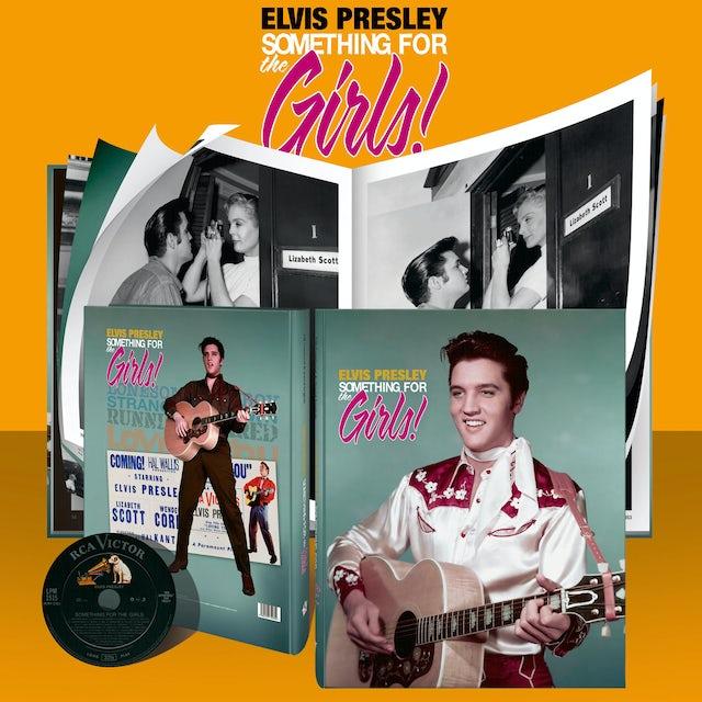 Elvis Presley Something for the Girls FTD Book/CD