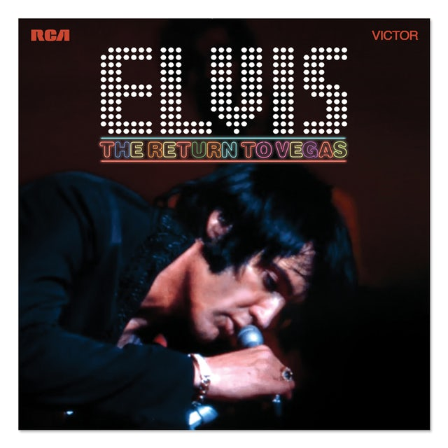 Elvis Presley The Return to Vegas FTD CD