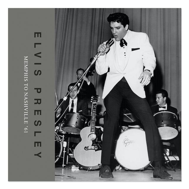 Elvis Presley Memphis To Nashville '61  FTD Book/CD