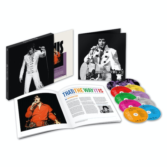 Elvis Presley That's The Way It Is Deluxe Edition CD/DVD Box Set