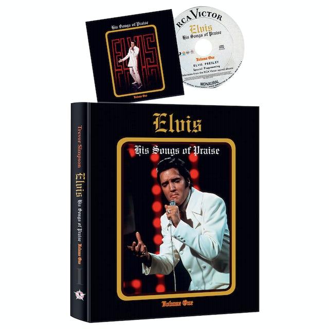 Elvis Presley His Songs of Praise Vol. 1 FTD Book & CD