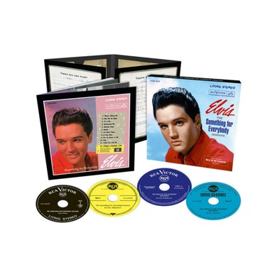 Elvis Presley THE SOMETHING FOR EVERYBODY SESSIONS FTD