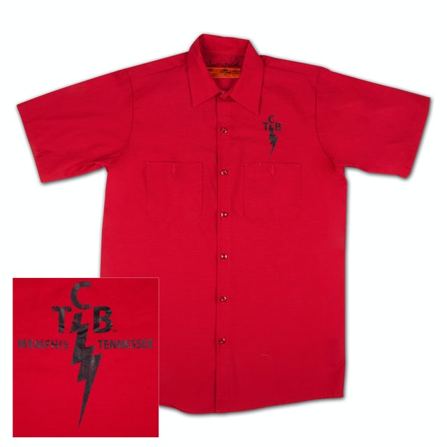 Elvis Presley TCB Workshirt