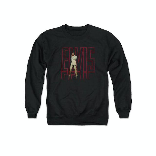 Elvis Presley Elvis 68 Album Sweatshirt