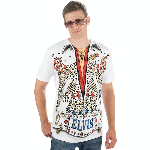 Elvis Presley American Eagle Jumpsuit T-Shirt
