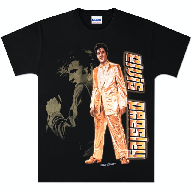 Elvis Presley Golden T-shirt