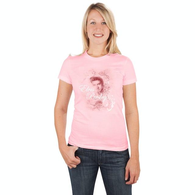 Elvis Presley Roses Women's T-Shirt