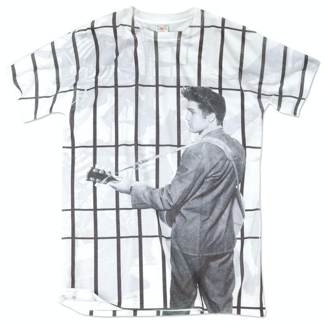 Elvis Presley Jailhouse Rock Total Print T-Shirt
