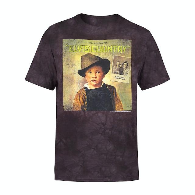 Elvis Presley Country Album T-shirt
