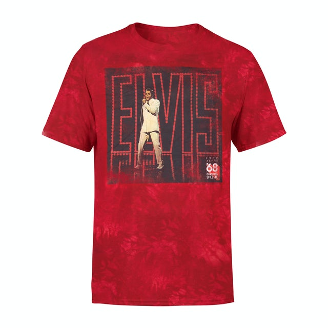 Elvis Presley 68 Comeback Special 50th Anniversary Album Cover T-shirt