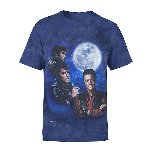 3 Elvis Moon T-shirt
