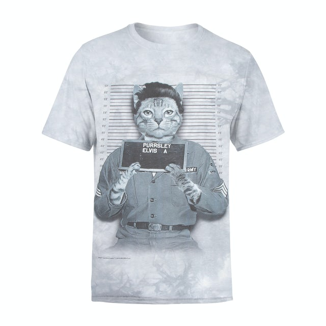 Elvis Presley Purrsley T-Shirt