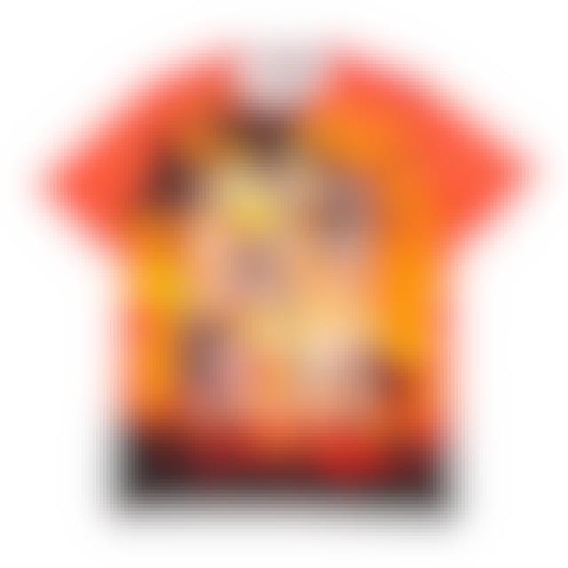 Orange Elvis Presley Hawaiian Sunset T-Shirt