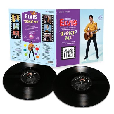 Elvis Presley Tickle Me 55th Anniversary Release FTD Limited Edition Vinyl (2 LP)
