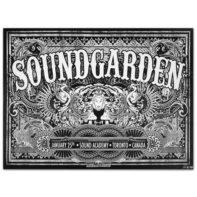 Soundgarden 01/25th Sound Academy Toronto Canada Print
