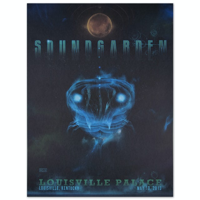 Soundgarden May 10, 2013 Louisville KY Show Print
