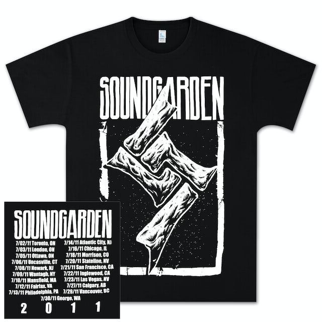 Soundgarden Bones Tour T-Shirt